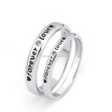 Wholesale 2015 new design silver 925 thailand ring for lover