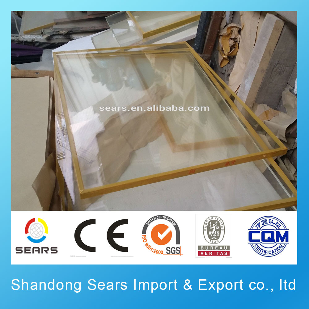 medical x ray lead glass from China manufacture price