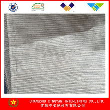 906 polyester hair nonwoven interlining hair interlining garment accessory wholesale