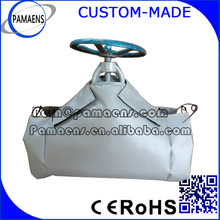 Reusable and Removable Gate Valve Insulation Jackets