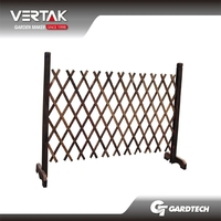 Familiar with ODM design cheap wood garden fence