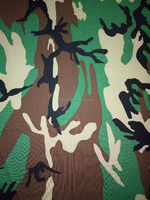 Waterproof Polyester/Cotton ribstop wood camouflage fabric for military uniforms