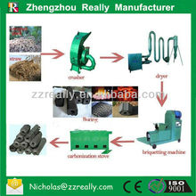 Factory price superior quality charcoal making machine/charcoal rod machine