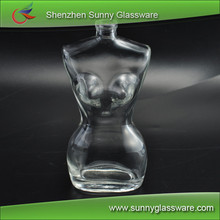 Sexy Woman Shaped Refillable Glass Perfume Bottle Wholesaler