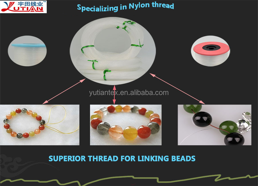 Hand Accessories knitting wear beads non elastic crystal thread