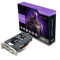 Sapphire amd Radeon DUAL-X R9 270 2GB256 bit GDDR5 920 MHz WITH BOOST & OC gaming graphic card
