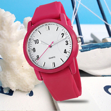 Hot sell rubber strap for watch most popular matching sport watch quartz watch