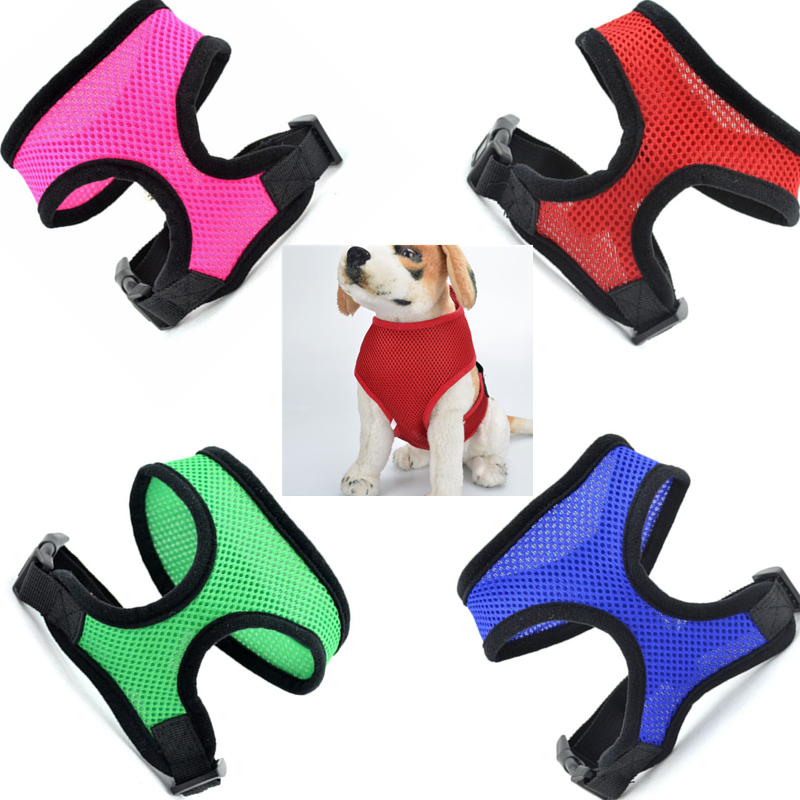China Retractable Dog Harness Soft Pet Collars And Leashes For Pitbulls On Sale