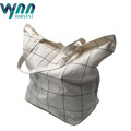 Onsite Checked Organic Cotton Bag with Handles