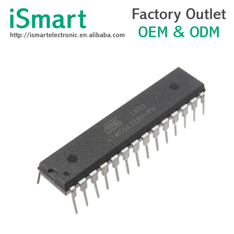 ATMEGA328P-PU DIP28 ATMEGA328-PU DIP ATMEGA328P new and original IC
