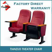 Plastic 3d theater auditorium hall chair T-C20
