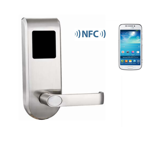 Stainless steel metal NFC door lock system, office furniture nfc locker lock with SDK