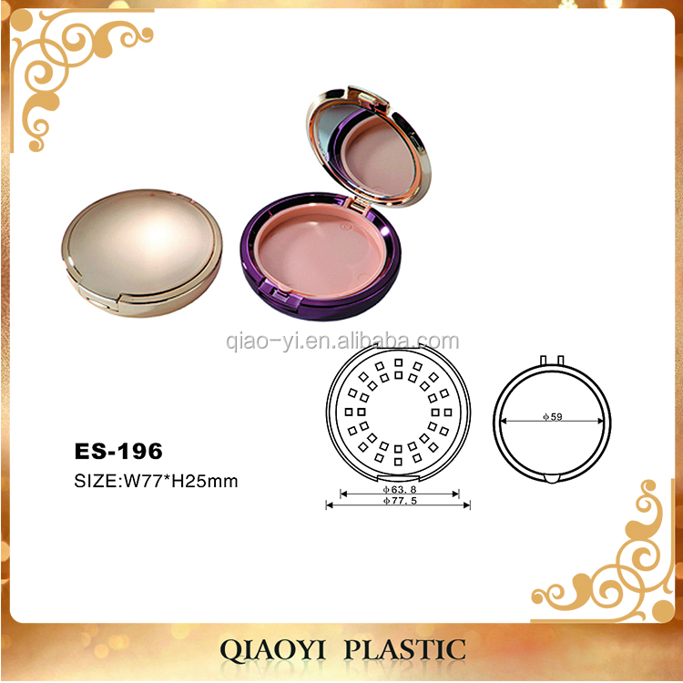 Best selling classical magnetic empty eyeshadow palette case