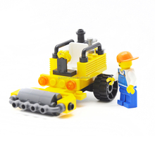 Figures Building Blocks boys play set Roller engineer series 44PCS DIY Toys Plastic Building Blocks toy for kids