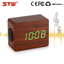 Factory price LED time display bluetooth speaker bsk10