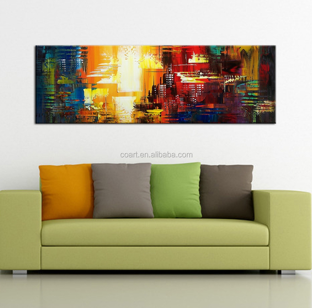 acrylic abstract paintings modern