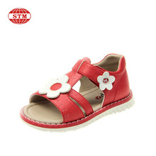 2016 new design nice footwear children fancy cute sandals for girls