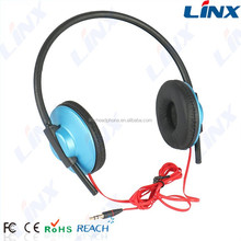 2016 wholesale newest wired stylish flat cable gaming headset for kids LX-101