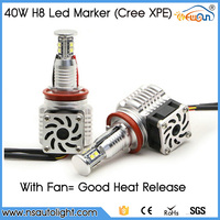 China 100% Brand New!! H8 80W Led Marker Angel Eyes Light For Bmw 1 3 5 6 7 X ZSeries