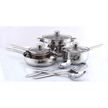 Factory supply cooking stainless steel cooware set