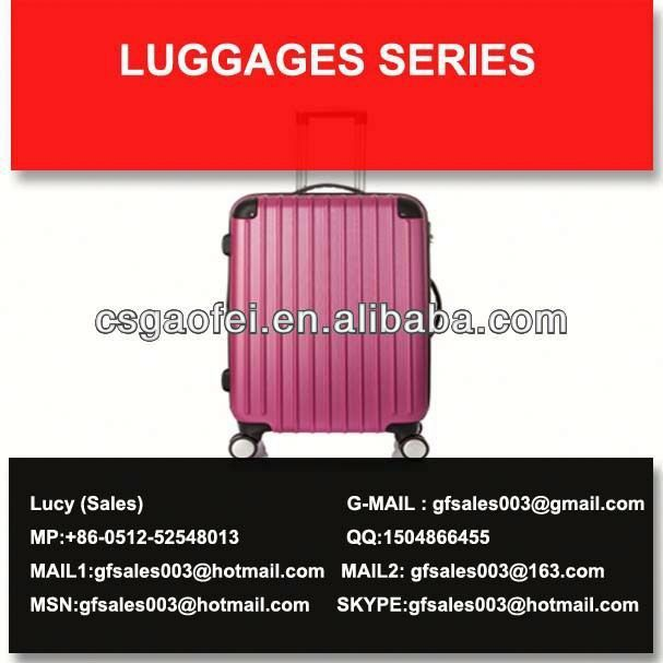 best and hot sell luggage expensive luggage for luggage using