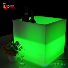 superbright led ice bucket table for the KTV lighting ice bucket