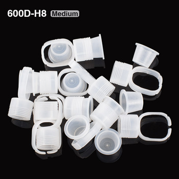 600D-H8 Medium eyebrow pigment rings 100 PCS/ Bag