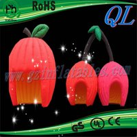 2016 Qi Ling garden party inflatable fruits tent