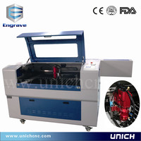smart and strong enough Acrylic Wood Metal laser cutting/denim jeans laser engraving machine