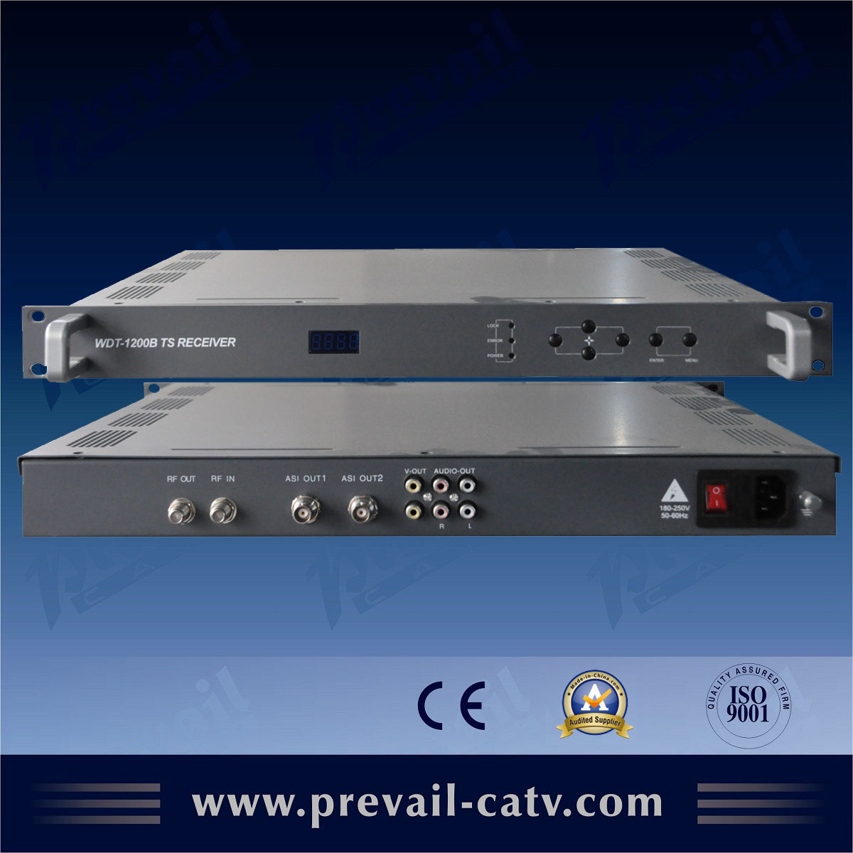 Quality Assurance space satellite receiver