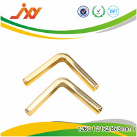 High quality glorious gold accessories metal bag fittings protect corner