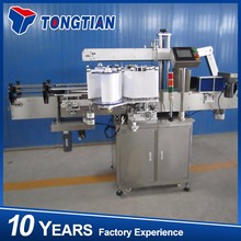 Automatic pet bottles labeling machine with steam shrink tunnel for drinking water