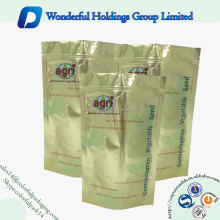 Accepted custom design colorful plastic stand up pouch seed packets with ziplock