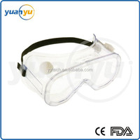 Plastic safety goggles for lab,hospitals,shooting with high quality
