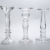 China Glassware Manufacturer souvenirs supply bulk glass candlestick holders
