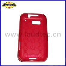 Round Circle Gel Case for Motorola Defy MB525