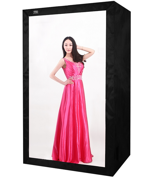 120 * 80*200cm Photo Studio Tent with LED Light Deep brand led light box softbox for pro photography