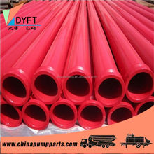 manufacturer of concrete pump spare parts hign pressure large diameter concrete pump pipe