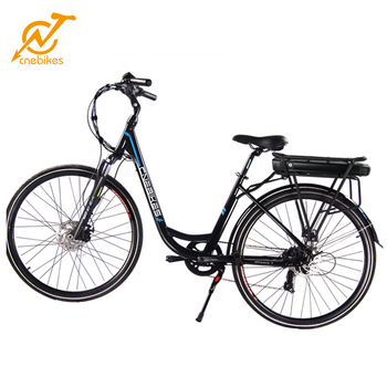 700C E-Bike 250W Electric City Bicycle 36V 10.4AH Lithium Battery 7 SPEED