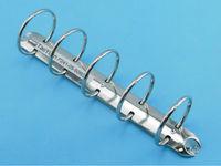 Fashionable metal 5 ring binder / O shape ring mechanism / stationery clip