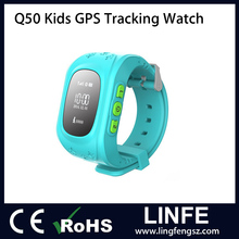 Q50 cell phone 2G 3G SOS panic button tracker kids gps watch with micro SIM card Q50 tracking watch