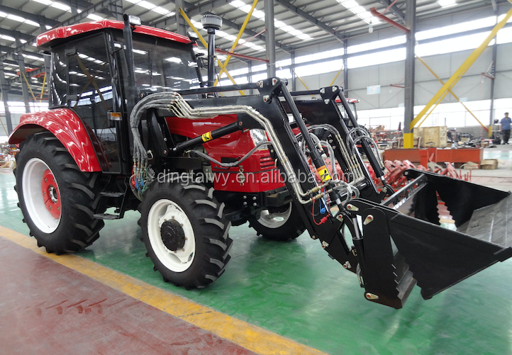 Best selling DT804 80hp four wheel drive tractor