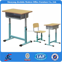 Student desks and chairs school furniture adjustable school desk