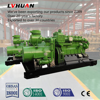 wood chips gasification power plant green power supply heating thermoelectric generator