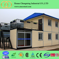 mobile portable container house/ high quality comfortable accommodation container/prefab modular mobile house
