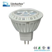 China Factory Free Sample RoHs UL Listed 12V Low Voltage 7W GU5.3 Dimmable MR16 LED Spotlight