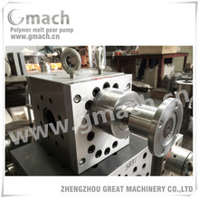 Extrusion melt gear pump for PP sheet co-extrusion line