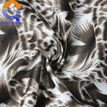China Wholesale Polyester printed fabric warp-knitted tricot plain mercerized cloth for lining, garment on sale