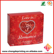 paper gift box for lovers perfume