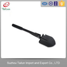 Plastic Coated 50Mn Qenched Mini Retractable Shovel With High Rigidity40-45Degree